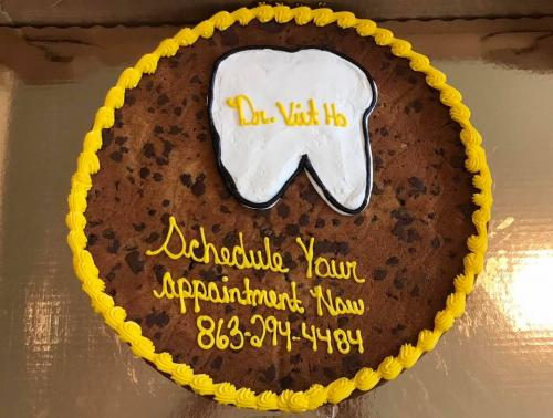 Cookie Treat to our patients. Friday the 13th. #PolkDentist